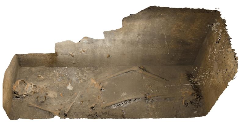 Onderzoek naar graf op de Kasteelruïne in Valkenburg aan de Geul tijdens Nationale Archeologiedagen
